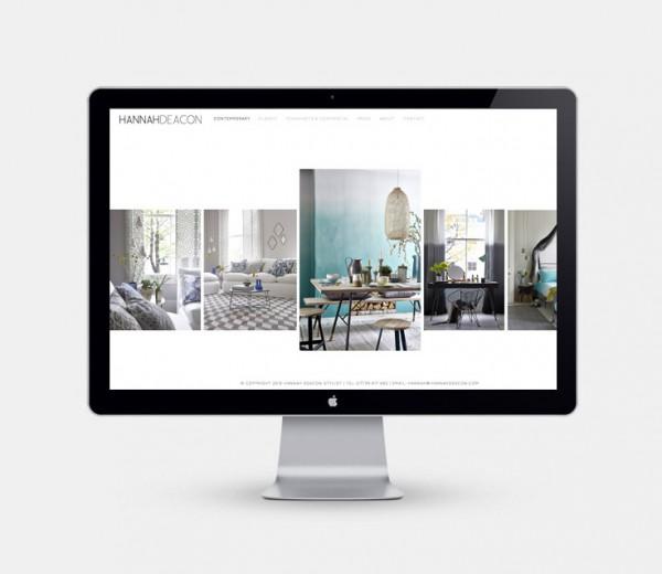 Hannah Deacon Stylist Website