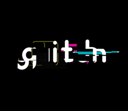 Glitch: An Animated Digital Typeface